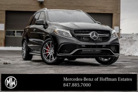 Certified Pre-Owned 2017 Mercedes-Benz GLE GLE 63 S AMG®