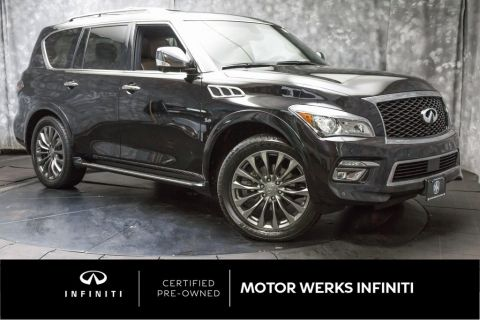 Certified Pre-Owned 2015 INFINITI QX80 Limited 4WD