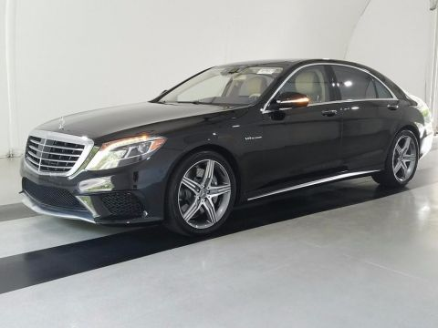 Pre-Owned 2015 Mercedes-Benz S-Class S63 AMG®