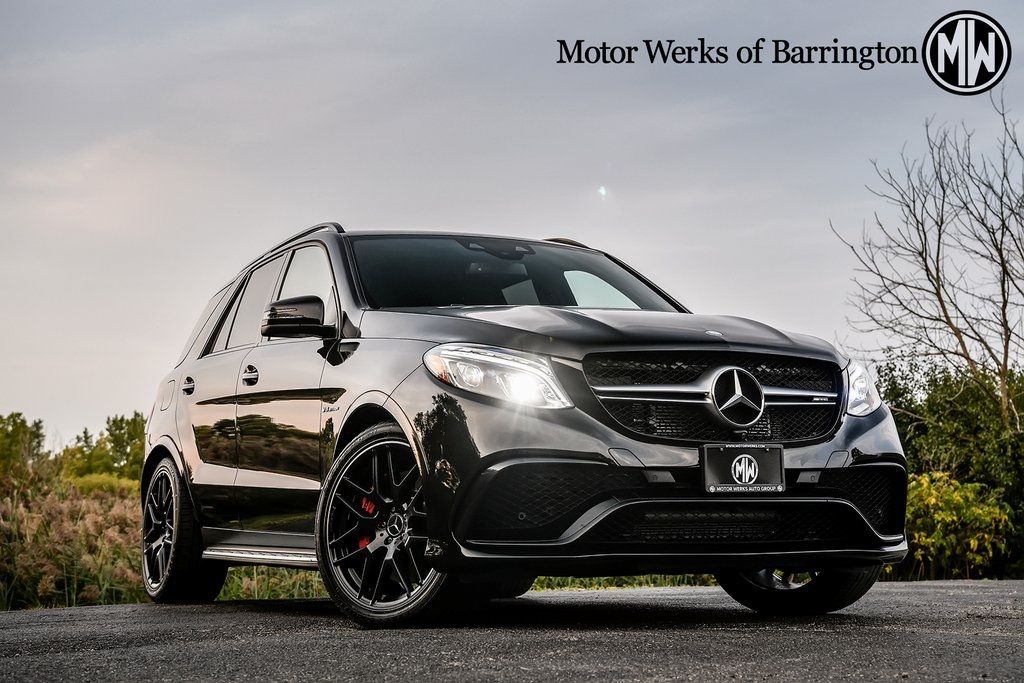 Certified Pre-Owned 2017 Mercedes-Benz GLE 63 AMG®