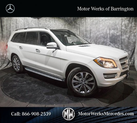 New 2016 mercedes benz gl class gl450 sport utility for Motor werks barrington used cars