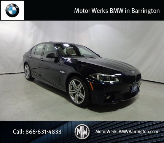 New 2015 bmw 5 series 550i xdrive 4dr car barrington for Motor werks barrington used cars