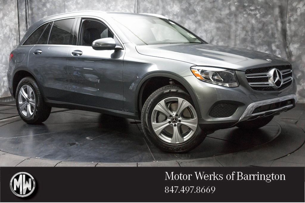 Certified used 2018 mercedes benz glc glc 300 4d sport for Mercedes benz motor werks