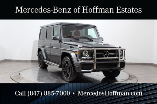 Used Mercedes-Benz G-Class G63 AMG Designo Graphite w/Designo Red Leather