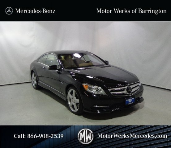 Certified used 2011 mercedes benz cl class cl550 sport for Motor werks barrington used cars