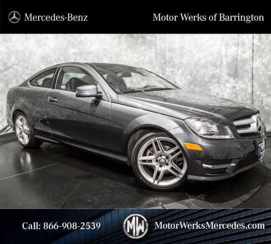 Certified Used 2013 Mercedes Benz C Class C250 2dr Car