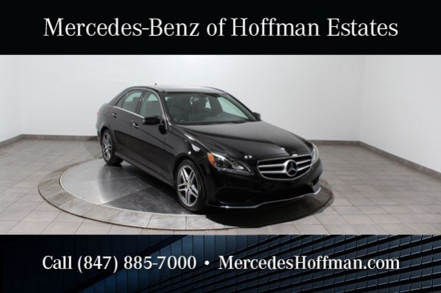 Used 2015 Mercedes Benz E Class E350 Sport 4 Matic With
