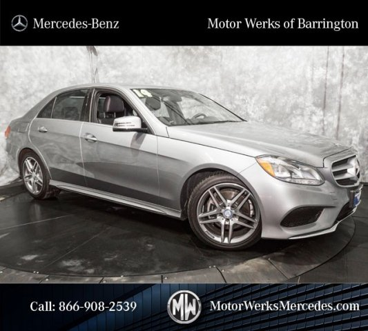 Certified Used 2014 Mercedes Benz E Class Sport With