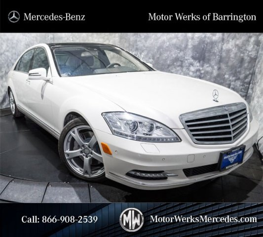 Certified Used 2013 Mercedes Benz S Class S550 4dr Car