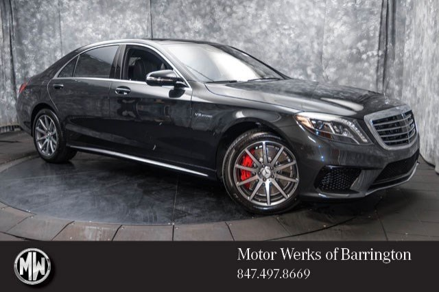 New 2017 Mercedes Benz S Class S63 Amg 4d Sedan 176416