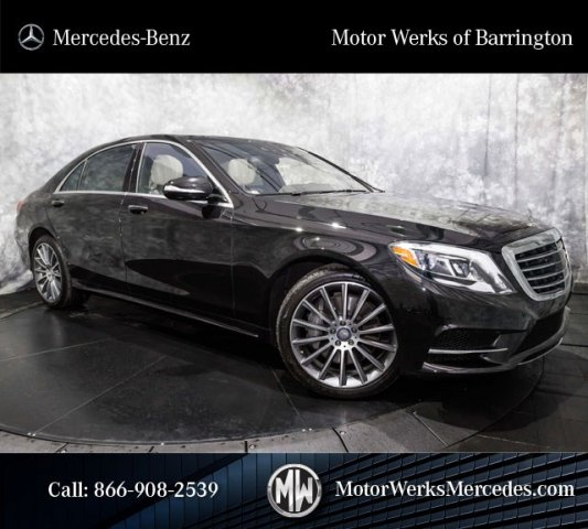 Used Mercedes-Benz S-Class S550 MSRP 123k Sport Package Plus DISTRONIC Night View Plus
