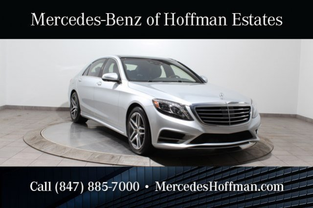 Used Mercedes-Benz S-Class S550 4Matic Sport Pkg Nappa Leather Drivers Assistance
