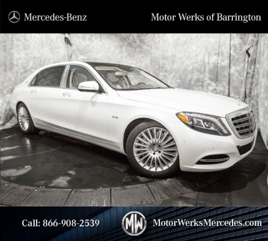 New 2016 Mercedes Benz S Class Maybach S600 4dr Car