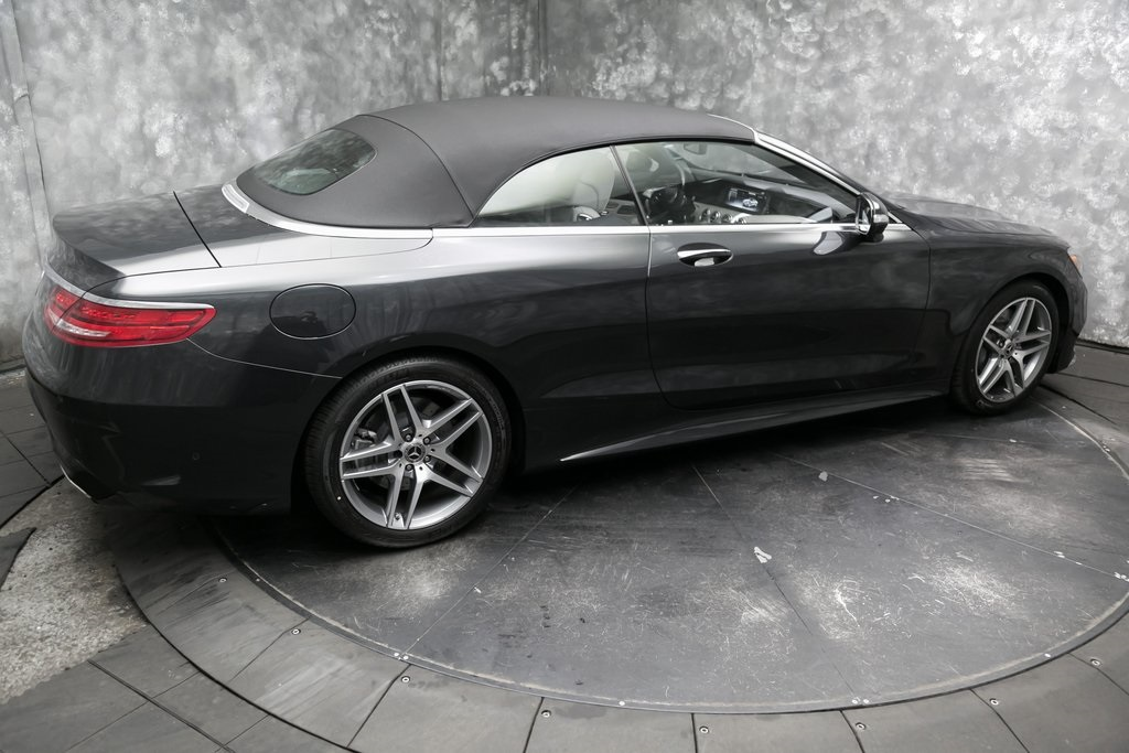 Used 2017 mercedes benz s class s 550 2d convertible for Mercedes benz motor werks