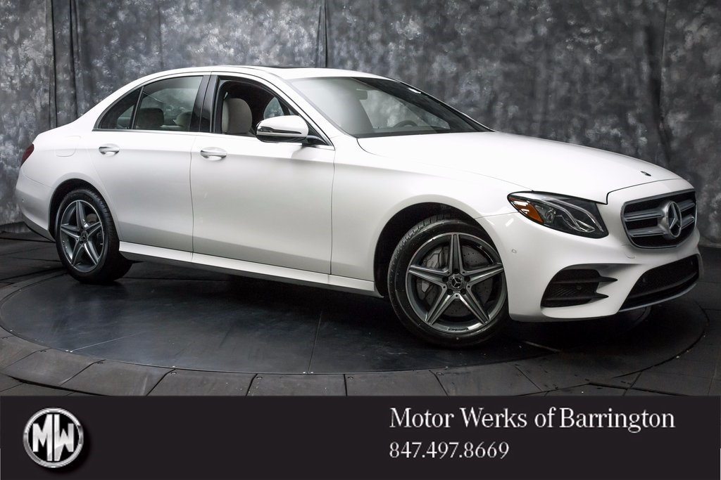New 2018 Mercedes Benz E Class E 300 4d Sedan 188434l