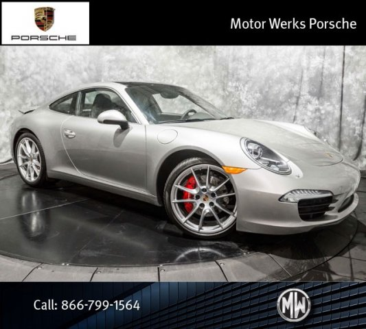 Certified used 2013 porsche 911 s 4s 2dr car barrington for Motor werks barrington used cars
