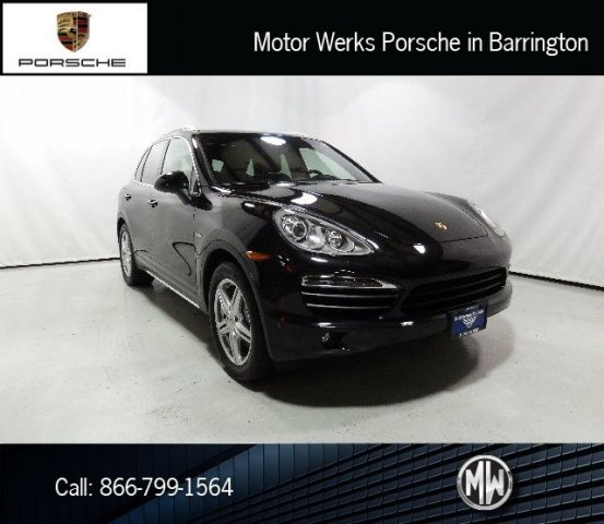 Certified Used Porsche Cayenne S